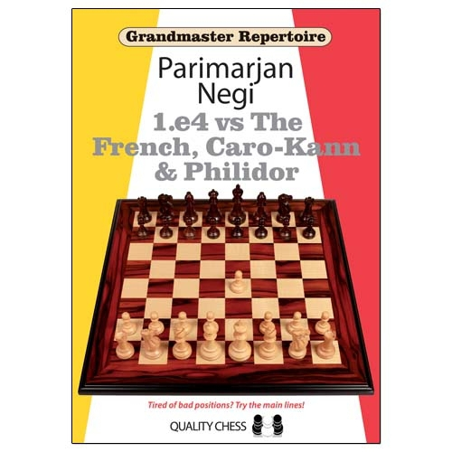 Grandmaster Repertoire - 1.e4 vs The French, Caro-Kann and Philidor / Parimarjan Negi-big