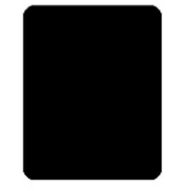 Cut card din plastic - negru-big