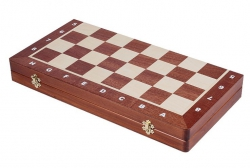 Set sah BHB no 5, inlaid mahon/artar0