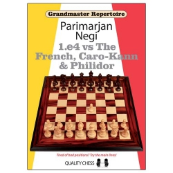 Grandmaster Repertoire - 1.e4 vs The French, Caro-Kann and Philidor / Parimarjan Negi0