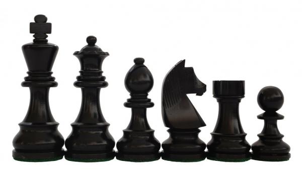 Piese sah Staunton 6 Clasic Black cu tabla sah lemn wenge 3