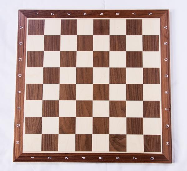 Piese lemn Staunton 6 Design Alban cu Tabla lemn no 6 - nuc/artar 3