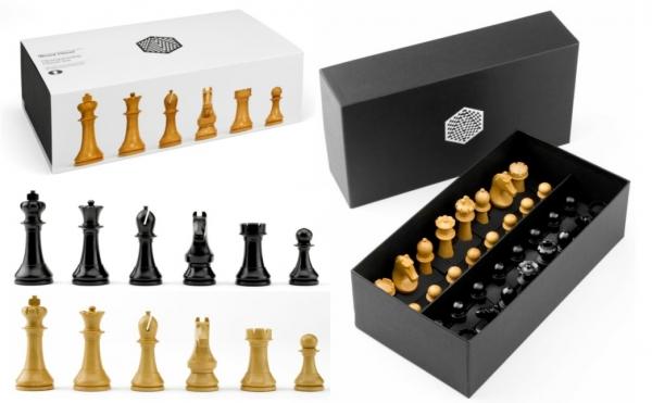 Piese sah lemn Staunton 6 World Chess Design cu tabla Deluxe Teak 2