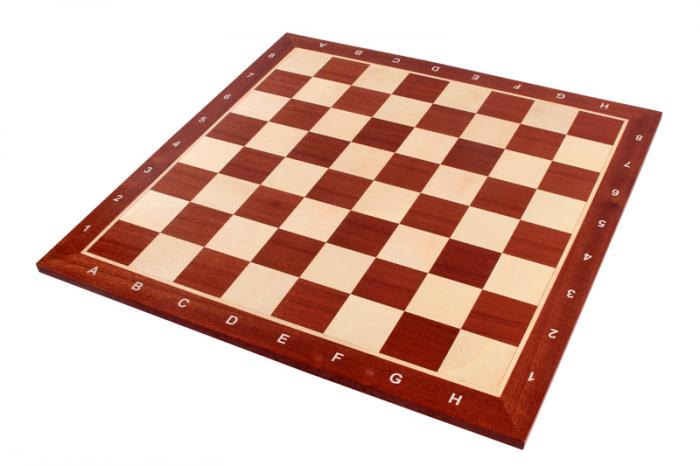 Piese sah Staunton 6 Clasic EQ +Tabla de sah - lemn no 6 - mahon 2