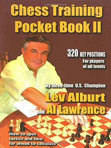 Chess Training Pocket Book II - 320 Key positions for players of all levels - Lev Alburt-big