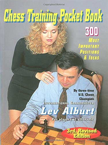 Chess Training Pocket Book I - 3rd ed. - 300 most important positions & ideas - Lev Alburt-big