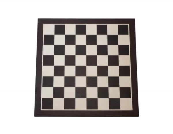 Piese sah Staunton 7 Suprem black + tabla lemn wenge no 7