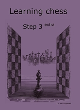 Learning chess - Step 3 EXTRA - Workbook / Pasul 3 extra - Caiet de exercitii-big