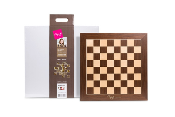 Tabla de sah – Polgar Deluxe-big