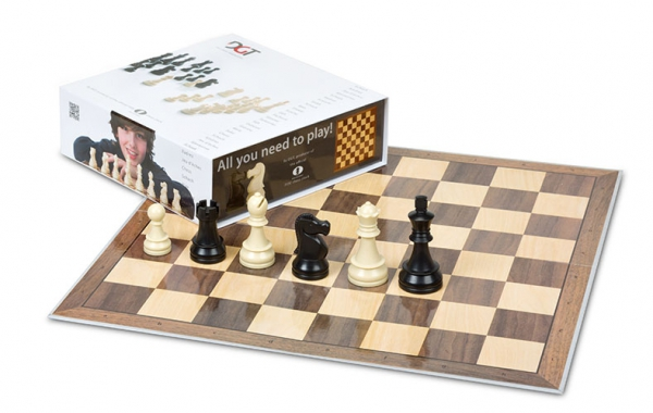 Set sah DGT Starter Chess Box – Gri-big