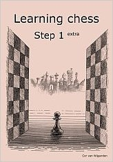 Learning chess - Step 1 EXTRA - Workbook / Pasul 1 extra - Caiet de exercitii-big