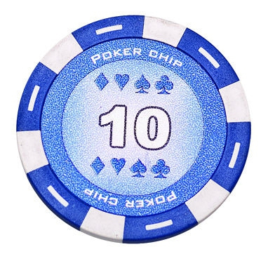 Jeton Poker Chip 11.5g - Culoare Albastru - inscriptionat (10)-big