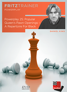Powerplay 25: Popular Queen's Pawn Openings – A Repertoire For Black-big
