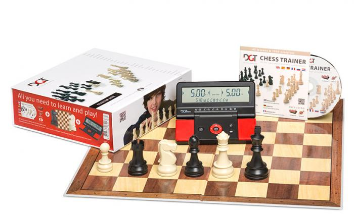 Set sah DGT Starter Chess Box – Rosu-big