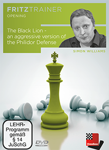 The Black Lion - an aggressive version of the Philidor Defense-big